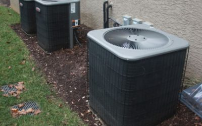 Tips For Hiding Pool Equipment And AC Units With Plants.